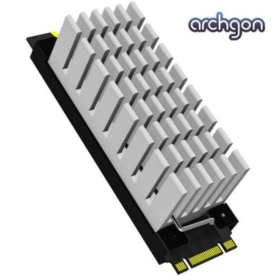 archgon亞齊慷 M.2 2280 SSD 散熱片組 HS-0130-S(銀)