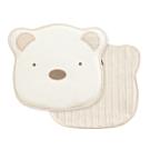 奇哥 有機棉造型Q棉塑型枕-附布套(27x26x2.5cm)