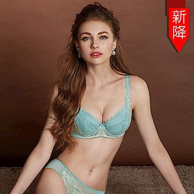 曼黛瑪璉 Hibra大波內衣  E-G罩杯(湖水藍)