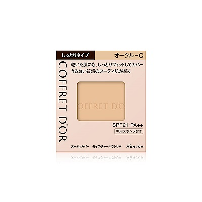 Kanebo佳麗寶 COFFRET DOR 光透裸肌保濕粉餅UV9.5g