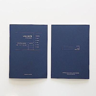 Funnymade 大人計劃A5補充本-線條筆記本(藍)