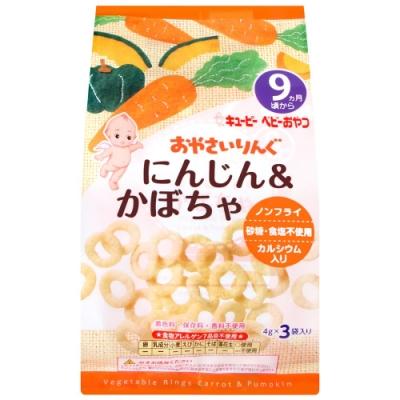 QP中島菫 蔬菜圈圈餅-胡蘿蔔&南瓜(12g)
