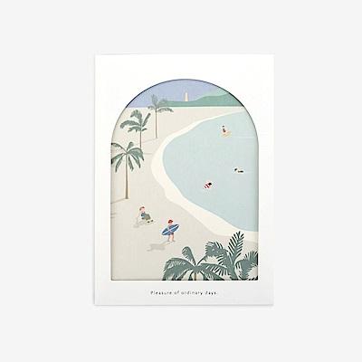 Dailylike 世界之窗卡片組-07海洋
