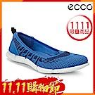ECCO INTRINSIC KARMA 女輕量針織休閒運動鞋 女-藍