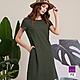 ILEY伊蕾 休閒紋理感純色連身洋裝(綠)1212017023 product thumbnail 1