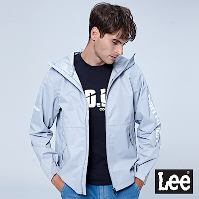 Lee UR防潑水外套-灰色