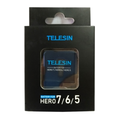 TELESIN GoPro 7/6/5/Hero 專用 鋰電池