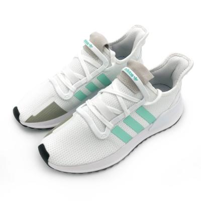 ADIDAS U_PATH RUN W 女 白綠 休閒鞋