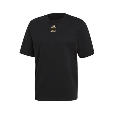 adidas T恤 JAMES BOND X ATHLETICS 男款 愛迪達 No Time to Die 黑金 GN6808