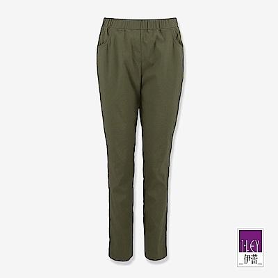 ILEY伊蕾 彈力九分窄管色褲(綠)