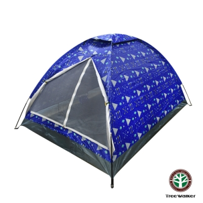 Tree Walker 單層雙人輕巧帳篷 幾何圖形