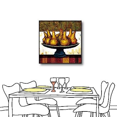 24mama掛畫-單聯式方形 油畫無框畫 金果-50x50cm