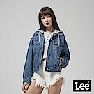 Lee 連帽可拆式牛仔外套-藍