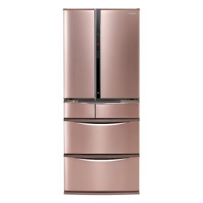 Panasonic國際牌601公升六門日本原裝冰箱(玫瑰金)-NR-F607VT-R1