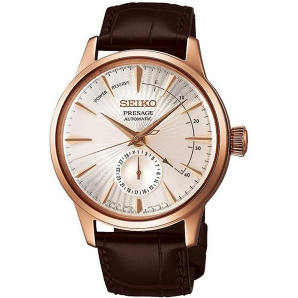 SEIKO 精工Presage 調酒師動力機械錶(4R57-00E0P/SSA346J1)
