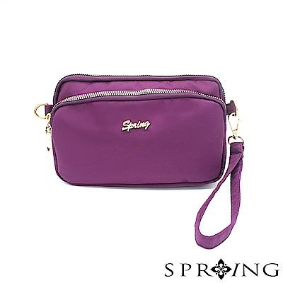 SPRING-守護者輕量迷你側背包-亮麗紫