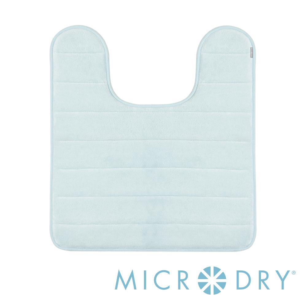 Microdry 時尚地墊 舒適記憶綿浴廁浴墊- 天際藍/F