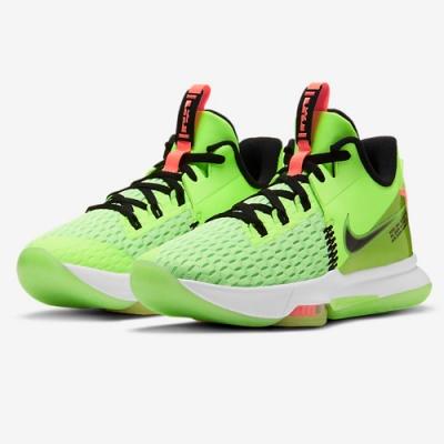 NIKE 籃球鞋 運動鞋 緩震 包覆 男女鞋 綠 CQ9381-300 LEBRON WITNESS V EP