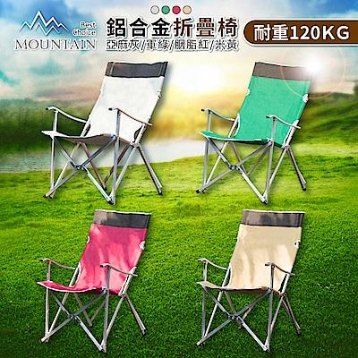 【日居良品】耐重高品質鋁合金牛津布露營折疊椅(大川椅導演椅)