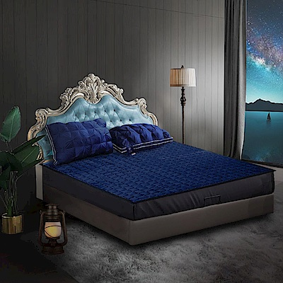 Hilton希爾頓 夏冬兩用床墊 3D透氣蜂窩網布+法蘭絨 雙人/加大/單人 均一價 克利爾古堡