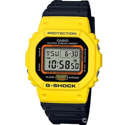 G-SHOCK 經典撞色運動錶(DW-5600TB-1)