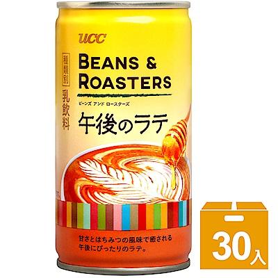 UCC 午後拿鐵咖啡(185gx30入)