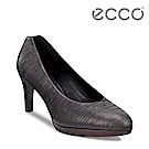 ECCO BROOKLYN 低調性感條紋淺口正裝高跟鞋 女-黑