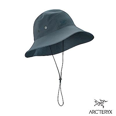 Arcteryx 始祖鳥 抗UV 遮陽帽 黑寶石/夜影灰