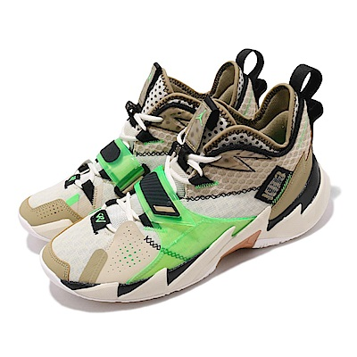 Nike 籃球鞋 Why Not Zer0 3代 PF 男鞋 忍者龜 威少 3代 喬丹 XDR耐磨 米 綠 CD3002200