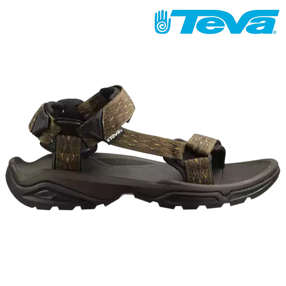 TEVA Terra Fi 4 男水陸兩用涼鞋 灰咖啡