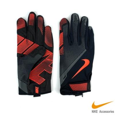NIKE 男用全指訓練手套 黑紅 NLGB3053
