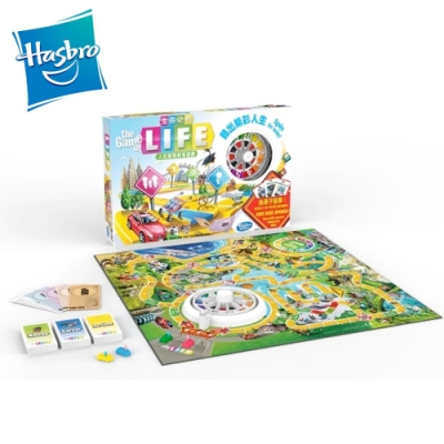 Hasbro孩之寶-生命之旅教育遊戲組  桌遊