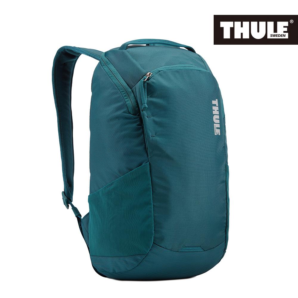 THULE-EnRoute 14L筆電後背包TEBP-313-深藍綠