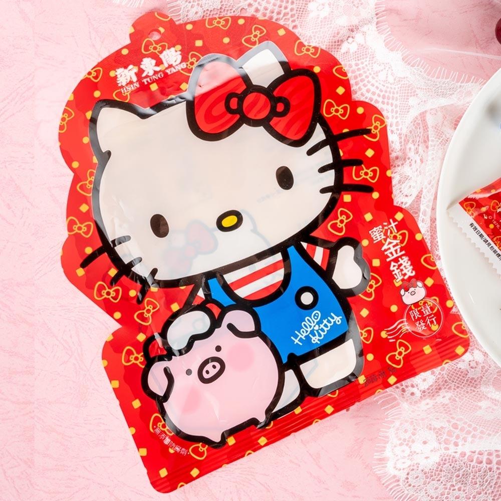 新東陽 Hello Kitty 蜜汁金錢豬肉乾(110g)
