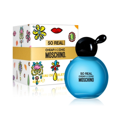 Moschino SO REAL 奧莉薇女性淡香水小香 4.9ml
