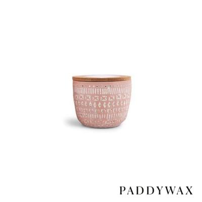 PADDYWAX 美國香氛 Sonora系列 柚子胡椒 原木蓋復刻浮雕陶罐 85g
