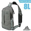 美國 GREGORY Sketch 8 UR 多功能日用單肩包8L_雜灰