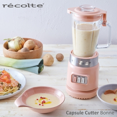 recolte 日本麗克特Glass Blender Rico 耐熱果汁機 MOOMIN限定款-RGB-1