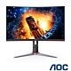 AOC C24G2 24型 1500R曲面電競螢幕HDR 165Hz 極速 1ms product thumbnail 1