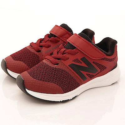 零碼-15cm NewBalance童鞋 針織運動鞋款 PREMRI紅