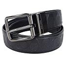 COACH 經典LOGO/浮雕旋轉針扣雙面用寬版男士皮帶(4款選)