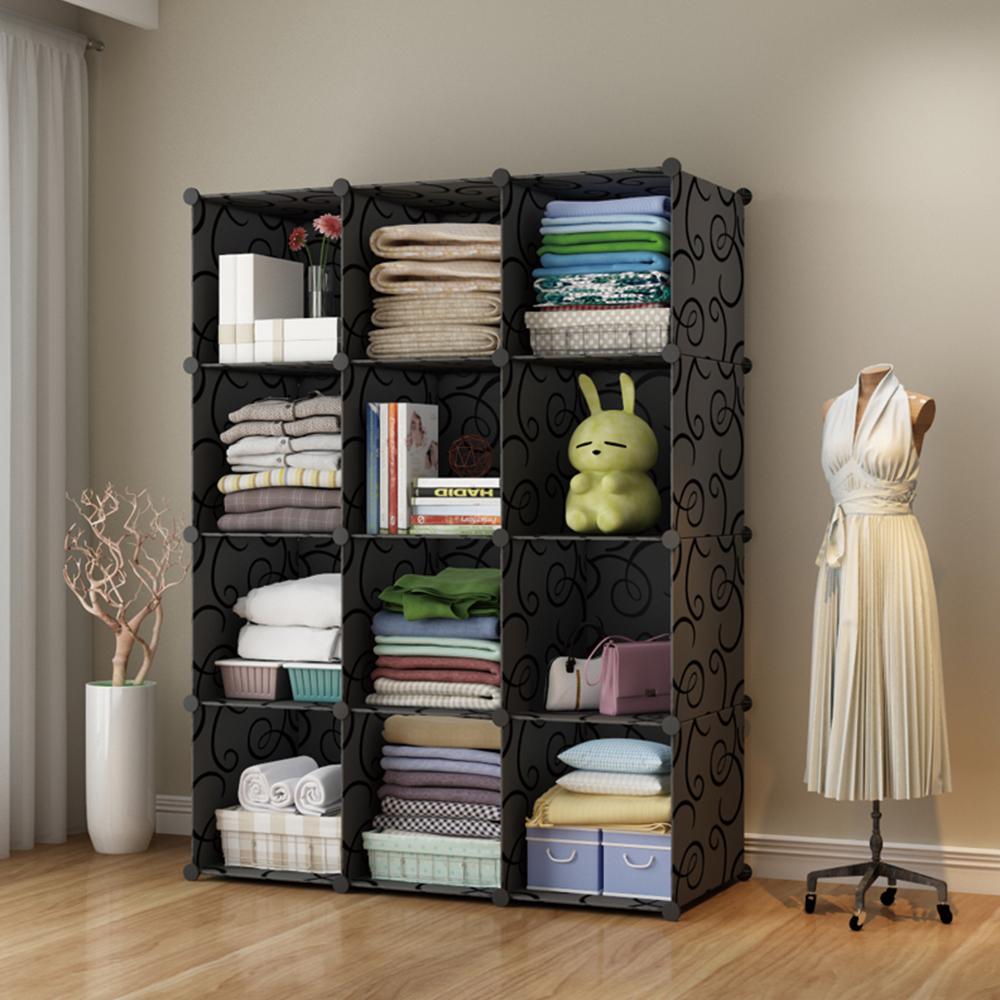 【Mr.Box】加大型12格收納櫃/置物櫃/書櫃-三色可選