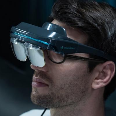 DreamGlass 4K 攜帶式 AR 智慧眼鏡