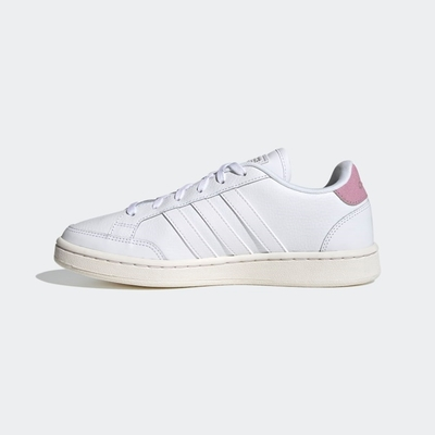 ADIDAS GRAND COURT SE女休閒鞋-白粉-FY8673