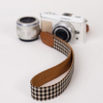 ICODE 幸運草彩色相機背帶 格子系列-5色可選