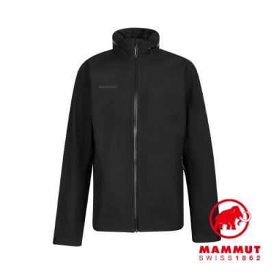 【Mammut 長毛象】Ayako Tour HS Hooded Jacket Men GTX 防水連帽外套 黑色 男款 #1010-28550