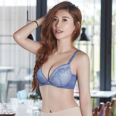 瑪登瑪朵 無鋼圈內衣  D-F罩杯(花蕊紫)