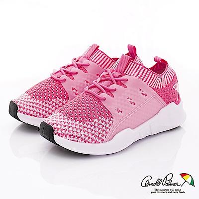雨傘牌 針織襪套休閒鞋款 EI93052粉紅(小童段)