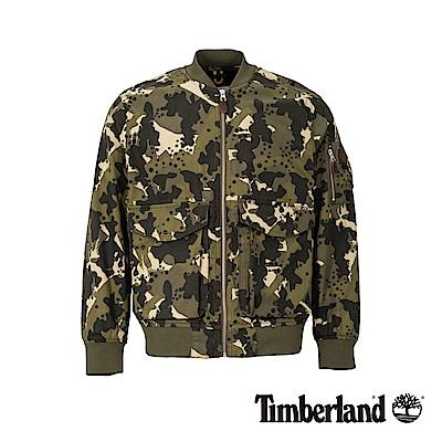 Timberland 男款迷彩印花MA1飛行夾克|A1OLP