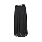 FILA #LINEA ITALIA 平織長裙-黑色 5SKT-5430-BK